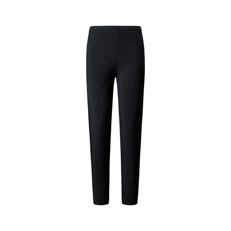 特步 专柜款 女子春季薄款透气运动健身梭织长裤981228980250
