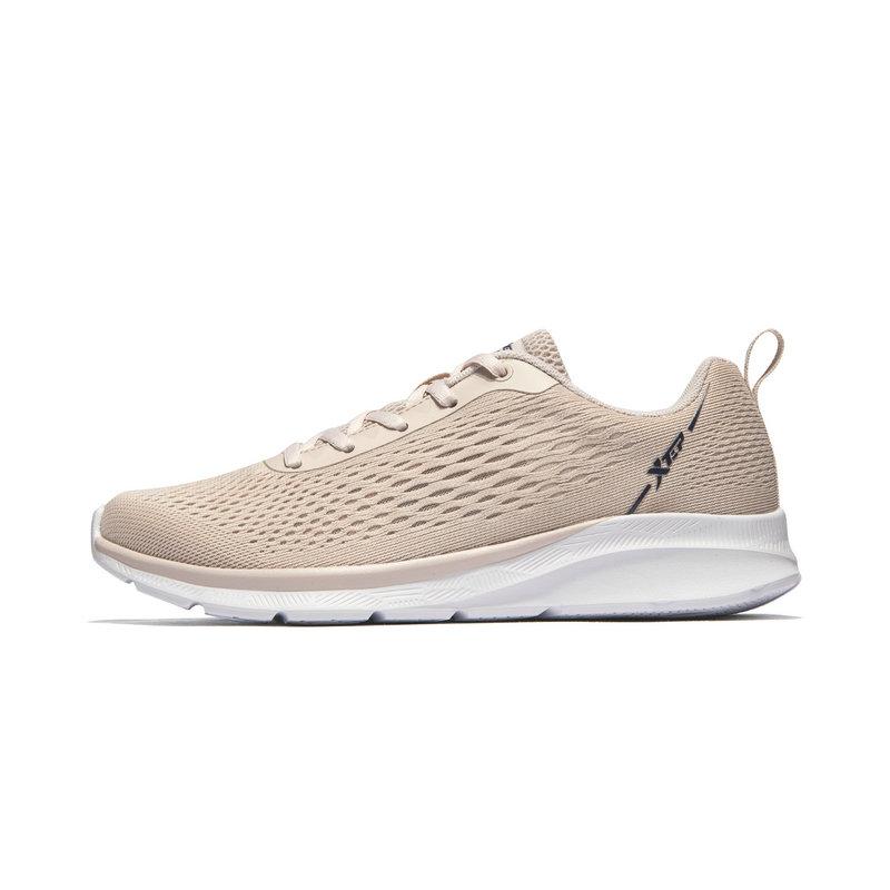 特步 专柜款 女子网面透气跑鞋 春季新款减震耐磨舒适百搭运动鞋981218110537