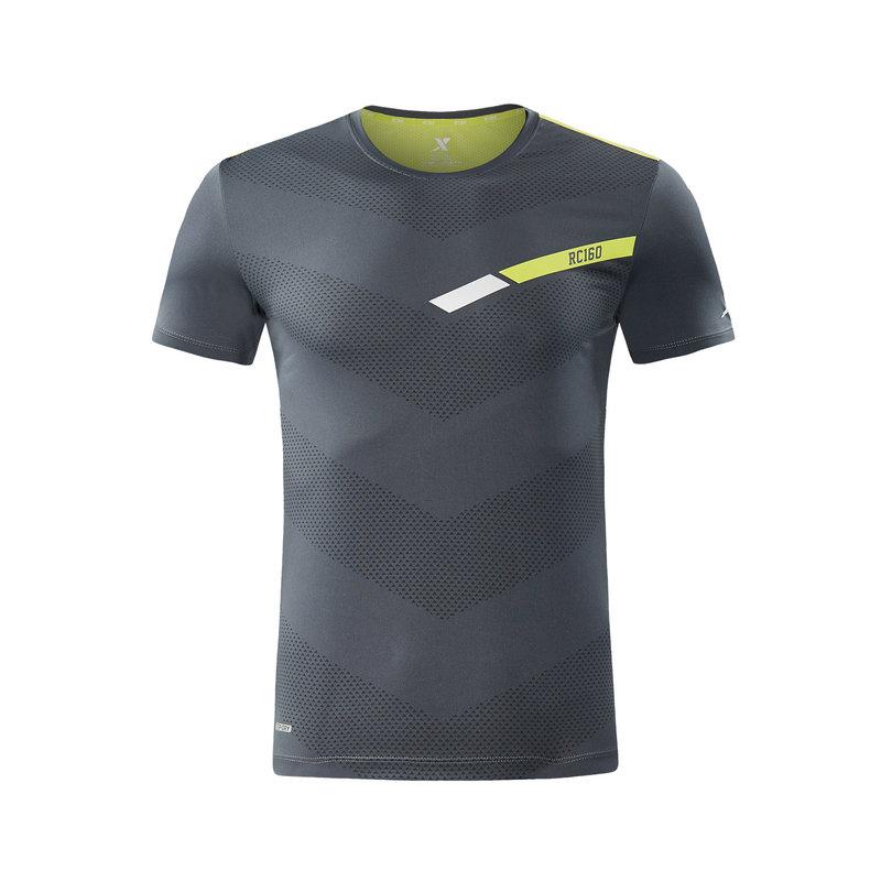 特步  专柜款 男子秋季新款马拉松跑步运动针织衫982329012377