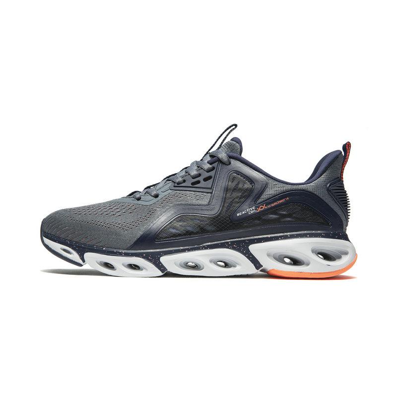 【减震旋科技】特步 专柜款 男子跑鞋 一体飞织网面透气袜套运动鞋981219110217