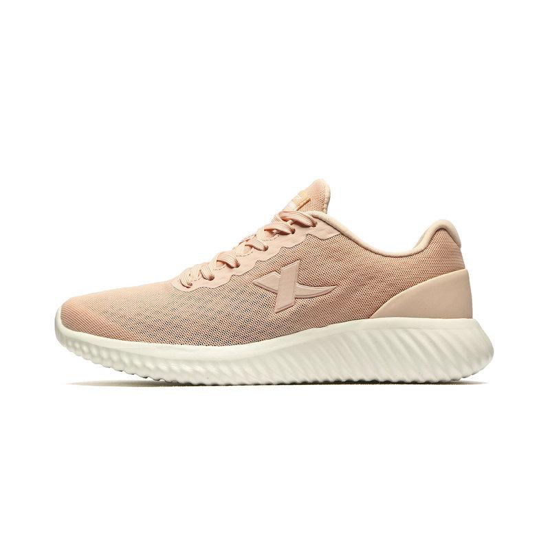 特步 专柜款 女子跑鞋 2019夏新款网面透气轻便运动鞋981218110603