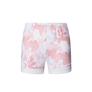 特步 专柜款 女子梭织运动短裤 透气舒适跑步短裤981228240163