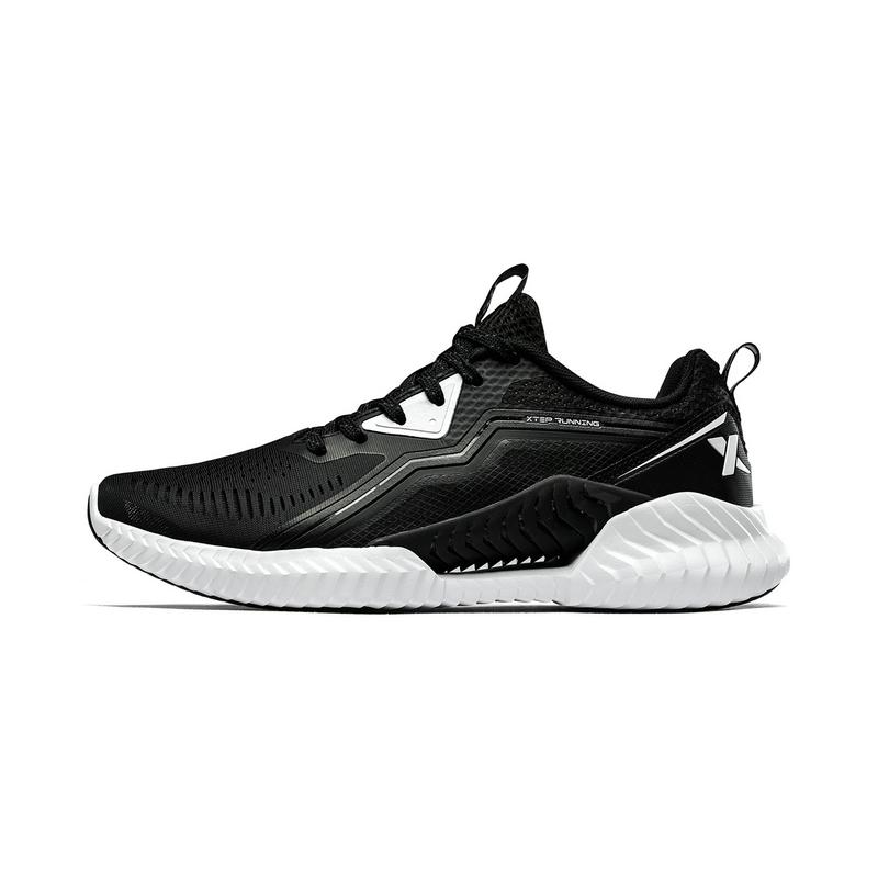 【氢风科技】特步 男跑鞋 19夏新款网面透气运动鞋881219119600