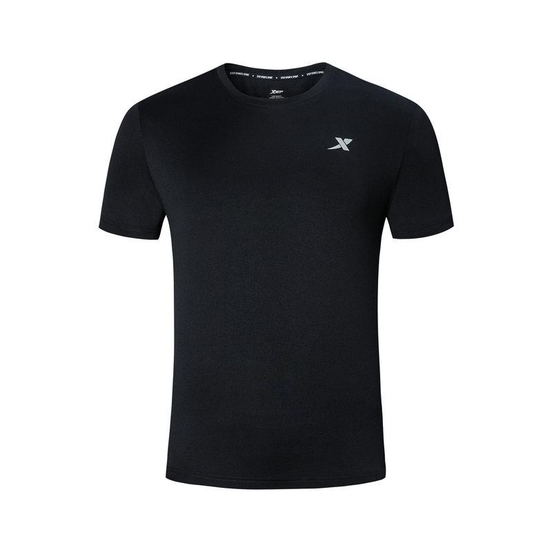 特步 短袖T恤男 2019夏季新款运动T恤透气轻薄男装上衣881229019273