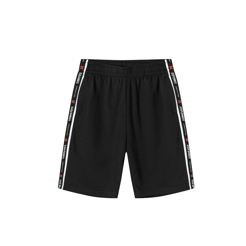 特步 专柜款 男子夏季活力都市时尚百搭针织短裤981229610214