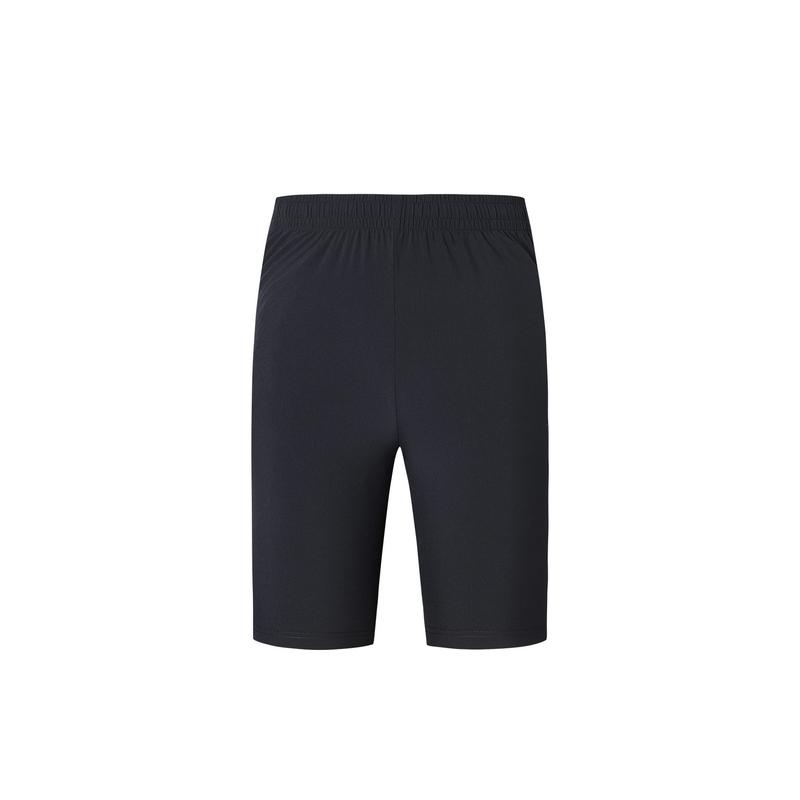 特步 专柜款 男子夏季跑步运动舒适透气梭织五分裤981229970039