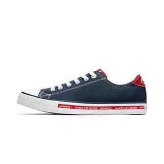 【地产大亨】特步 男子帆布鞋 19夏新款潮流时尚百搭鞋881219109862