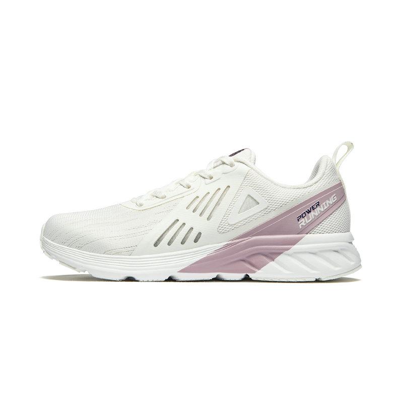特步 专柜款 女子跑鞋 19夏新款简约时尚百搭运动鞋981218110536