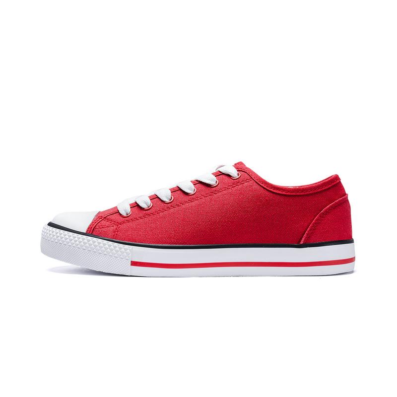 特步 女子夏季新款时尚简约百搭经典帆布鞋881118109238