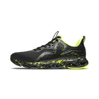 【减震旋科技】特步 专柜款 男子跑鞋 2019春夏新款一体飞织网面透气袜套运动鞋981219110217