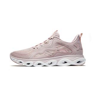 【减震旋科技】特步 专柜款 女子跑鞋 2019春夏新款透气轻便网面运动鞋981218110217
