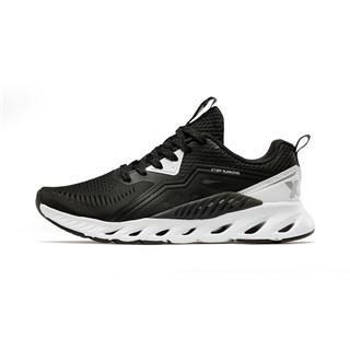 【氢风科技】特步 女跑鞋 19夏新款轻便透气网面运动鞋881218119600