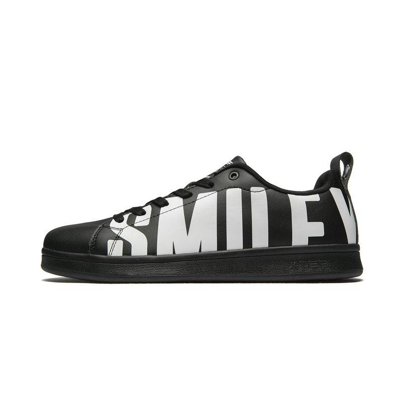 【Smiley联名款】特步 专柜款 男子板鞋 时尚休闲白搭板鞋981219316102