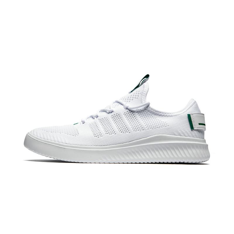 特步 专柜款 男子板鞋2019夏季新款网面运动鞋时尚潮休闲小白鞋981219316219