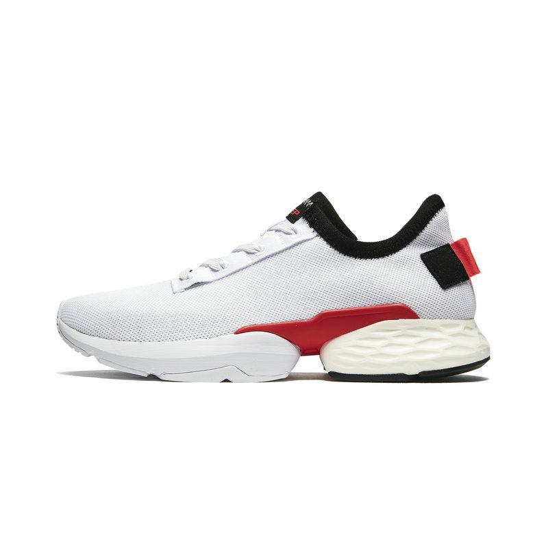特步 专柜款 男子休闲鞋 2019夏季新款透气运动鞋男动力巢跑鞋981219392965