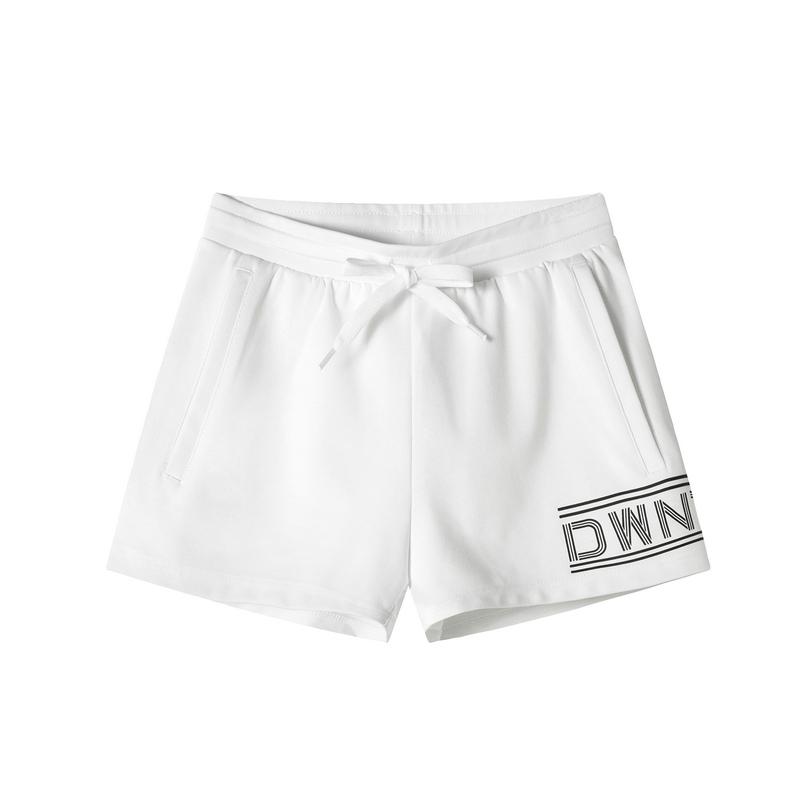 特步 专柜款 女子针织短裤 2019夏季新款轻便透气运动裤女981228600118