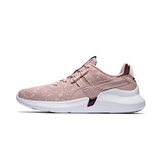 特步 专柜款 女子休闲鞋 时尚系带网面轻便运动鞋981218326839