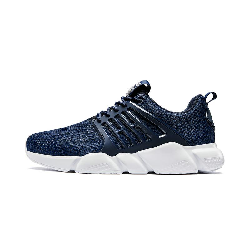 特步 男子休闲鞋 19夏新款简约休闲系带运动鞋881219329100