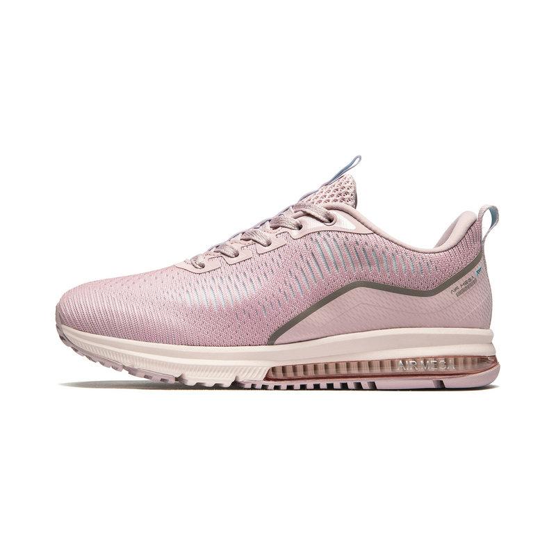 特步 专柜款 女子跑鞋 19夏新款网面轻便气垫鞋981218110221