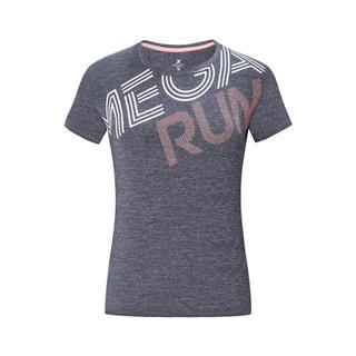 特步 专柜款 女子短袖针织衫 跑步透气轻薄运动T恤981228012705