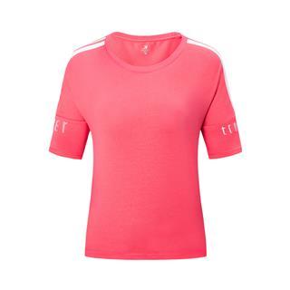 【景甜同款】特步 专柜款 女子短袖 宽松透气运动针织衫981228012721