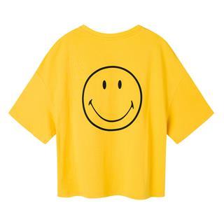 特步【SMILEY联名款】女子夏季新款潮流时尚百搭休闲运动T恤881228019252