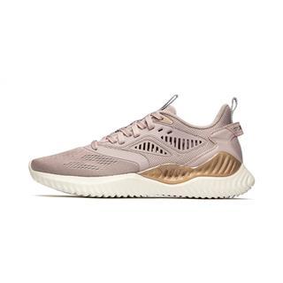 特步 专柜款 女子跑鞋 19夏新款网面透气耐磨运动鞋981218110228