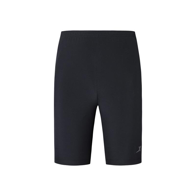 特步 专柜款 男子夏季跑步运动舒适透气梭织短裤981229240162