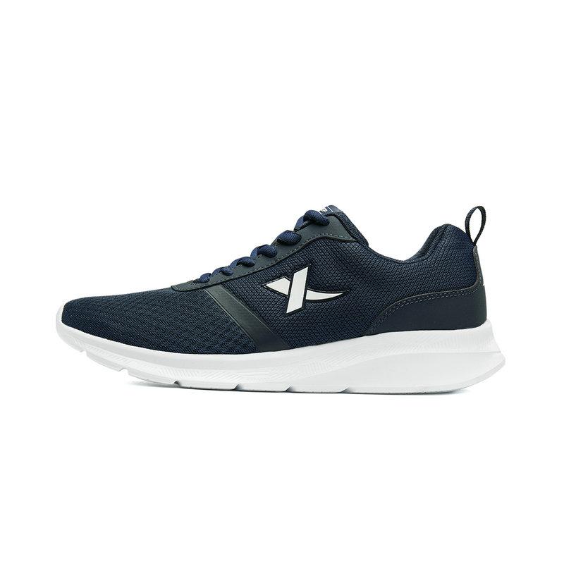 特步 男子夏季网面透气运动鞋 减震耐磨跑步鞋881119119237