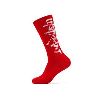 【怪诞星球】特步 男子平板长袜 运动休闲新中国风个性长袜881239569052
