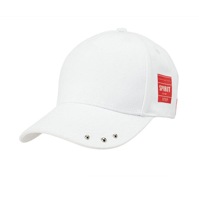 特步 男女运动帽 19新款潮流织带遮阳帽户外运动鸭舌帽881337219011