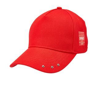 特步 男女运动帽 潮流织带遮阳帽户外运动鸭舌帽881337219011