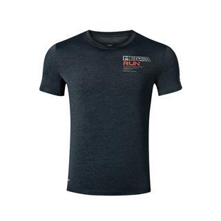 【释冰科技】特步 专柜款 男子短袖针织衫 19夏新款轻薄透气舒适T恤981229012696
