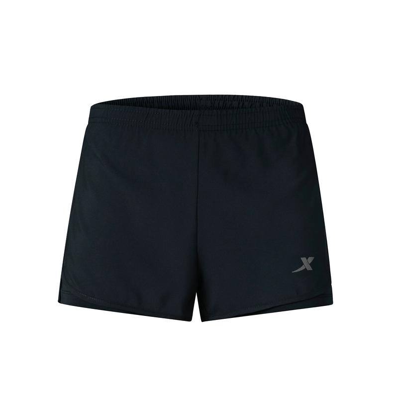 特步 专柜款 女子梭织运动短裤 19夏新款宽松健身短裤981228240157