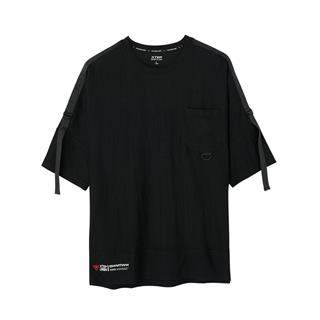 特步 专柜款 男子针织短袖 新品舒适休闲时尚潮流透气981229012617