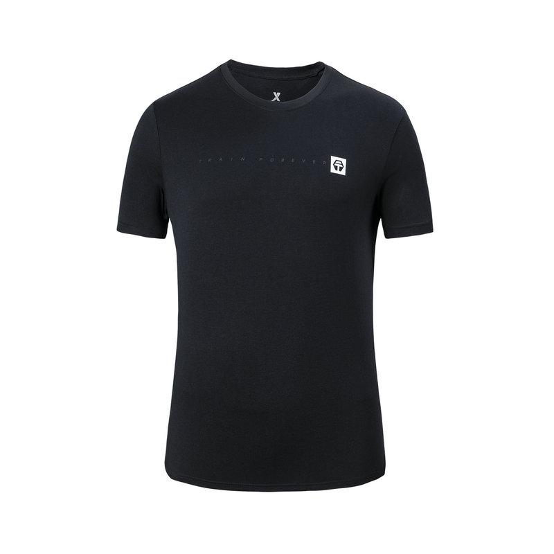 特步 专柜款 男子夏季综训运动舒适透气短袖T恤981229012708
