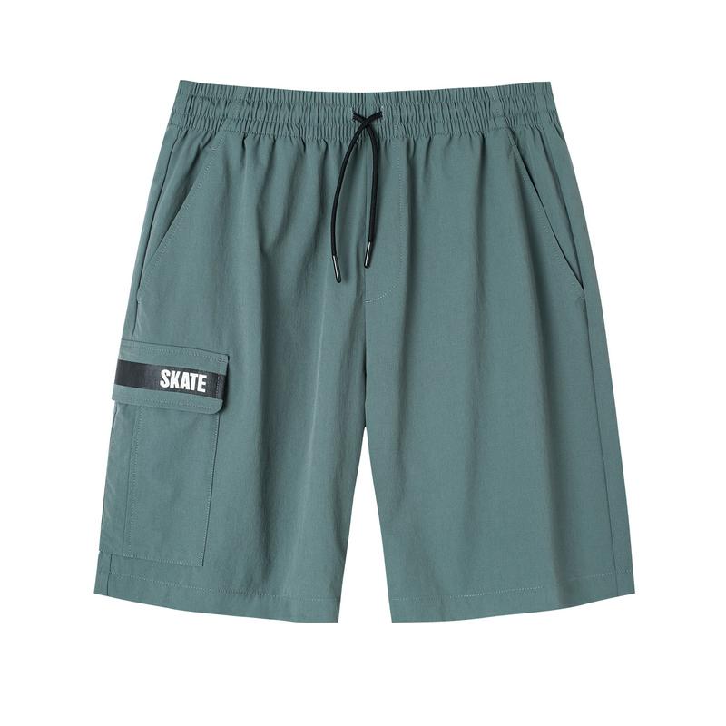 特步 男子短裤 2019夏季新款潮流工装口袋休闲五分裤881229479244