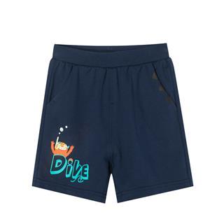 特步 男童针织短裤 中小童儿童休闲裤681225609144