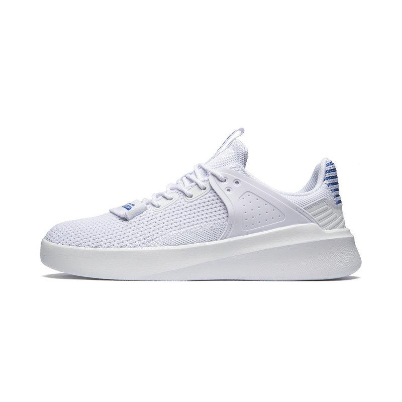 特步 男子板鞋 2019夏季新款针织透气轻便时尚板鞋981219316171
