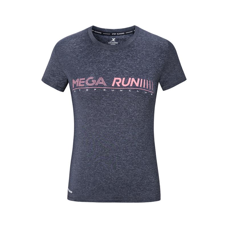 【释冰科技】特步 专柜款 女子短袖针织衫 2019夏季新款跑步透气轻薄运动T恤981228012723