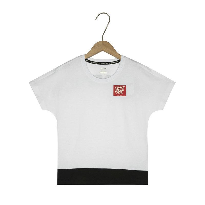 特步 男童短袖针织衫 19夏新款儿童中小童时尚T恤881125019324