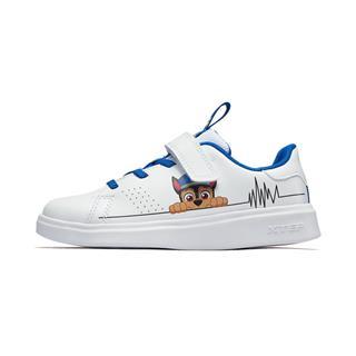 特步 儿童板鞋 男女童卡通小白鞋681216319287
