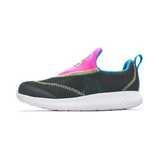 特步 男女童跑鞋 19夏新款儿童中小童透气可爱运动鞋681216119271