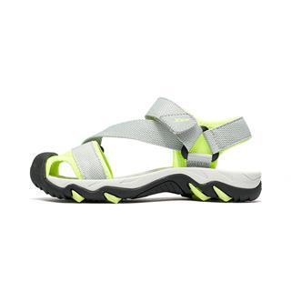 特步 男童沙滩鞋 中大童儿童包头软底防滑鞋681215509250