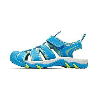 特步 男童沙滩鞋 中大童儿童潮流包头软底鞋681215509231