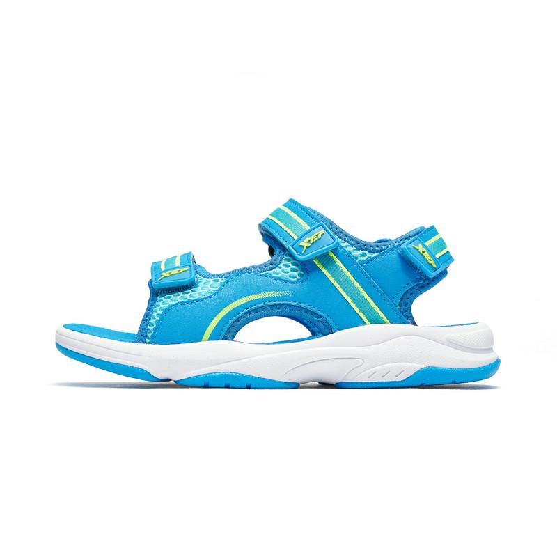 特步 男童沙滩鞋 19夏新款中大童儿童舒适凉鞋681215509260