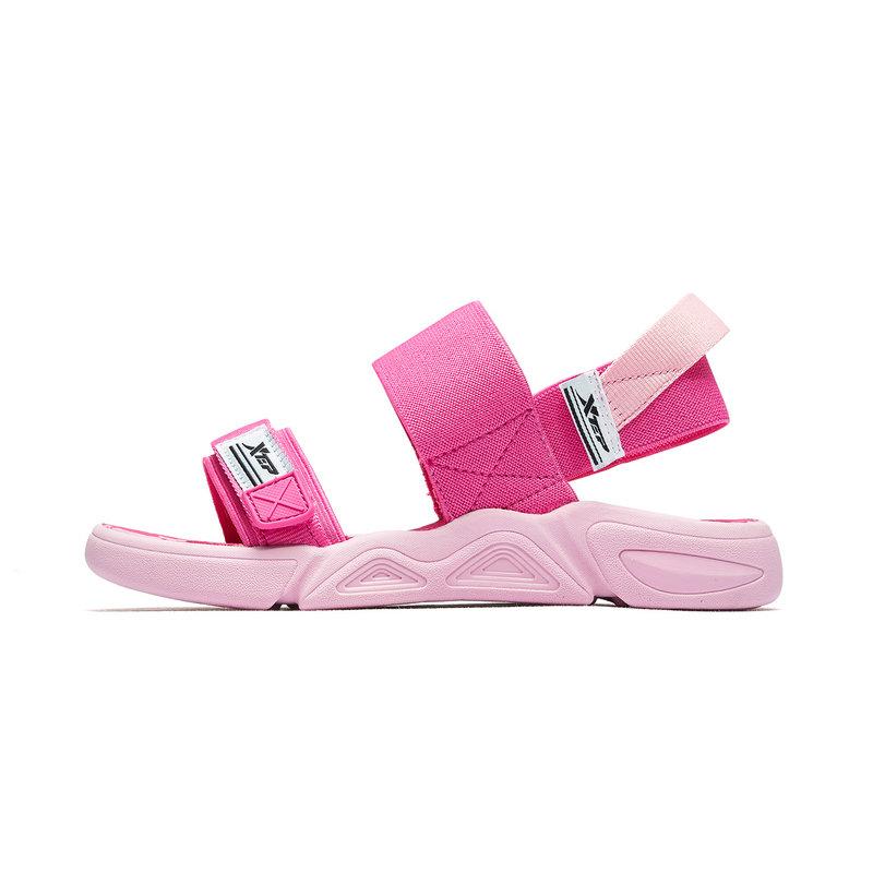 特步 女童沙滩鞋 2019夏季女中大童透气时尚运动休闲沙滩鞋681214509251