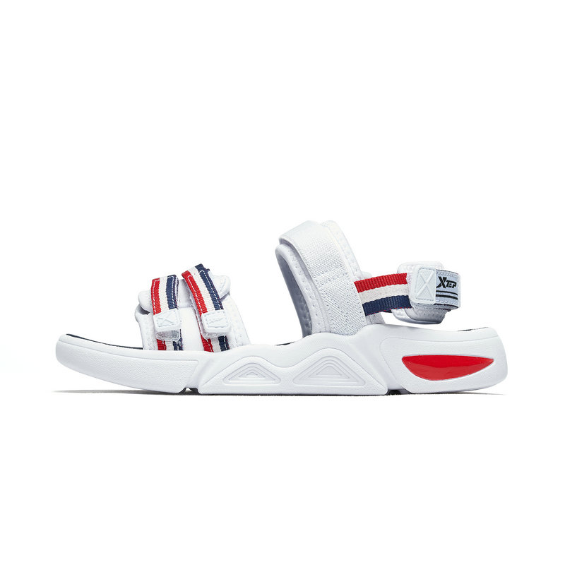 特步 男童沙滩鞋 2019夏季童鞋沙滩鞋软底魔术贴中大童男童凉鞋681215509252