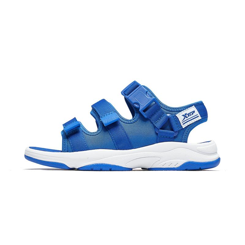 特步 男童沙滩鞋 2019夏季新款儿童沙滩鞋男童海边软底凉鞋681215509235