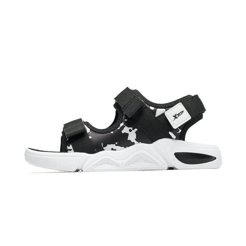 特步 男女童鞋 2019夏季童鞋男童户外沙滩鞋小童沙滩鞋681216509236